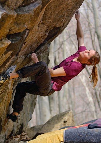 画像1: MOON Womens ZODIAK HERITAGE Tee Climbing T-Shirt ゾディアック クライミング 女性用 Tシャツ 2018