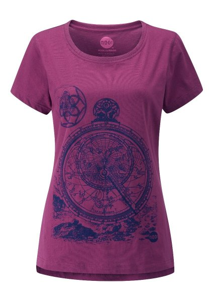 画像1: MOON Womens ZODIAK HERITAGE Tee Climbing T-Shirt ゾディアック クライミング 女性用 Tシャツ 2018 (1)