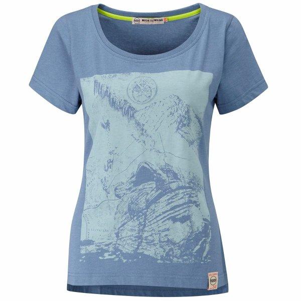 画像1: MOON Womens Mother Cap Heritage Tee Climbing T-Shirt マザーキャップ ヘリテージ クライミング 女性用 Tシャツ 2018 (1)